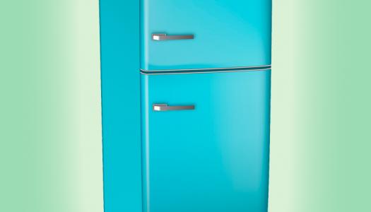 A geladeira! Você já sorriu hoje? :)
