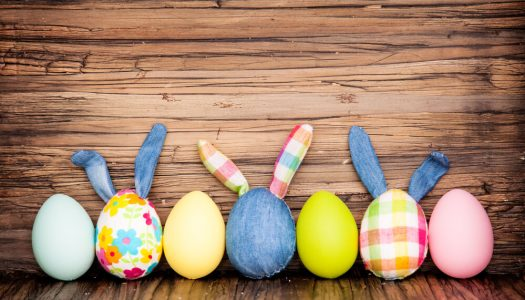 Feliz Páscoa para você e sua família!