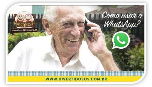 Guilherme ensina a usar o Whatsapp