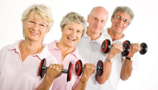 Vida após os 60: 30 minutos de exercícios físicos por dia